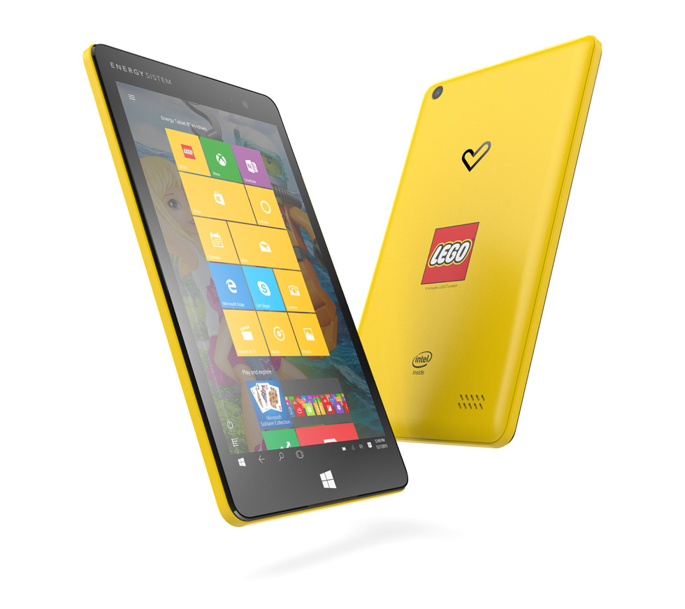 "Energy Tablet 8"" Windows LEGO"