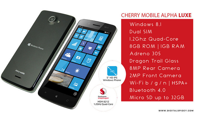 Cherry Mobile Alpha Luxe
