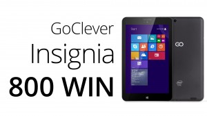 Reset Windows GoClever Insignia 800 WIN