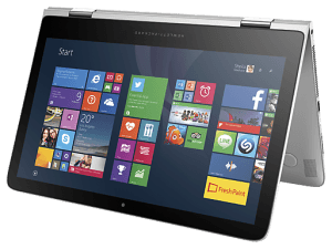 reset windows HP Spectre x360