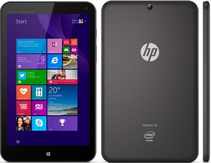 Reset Windows en HP Stream 8 Tablet
