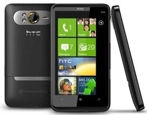 reset Windows en HTC HD7