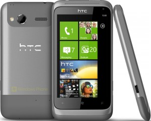 reset Windows en HTC Radar