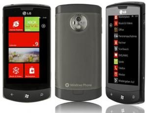 Reset Windows en LG Optimus 7