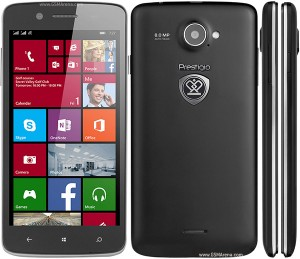 Reset Windows en Prestigio MultiPhone 8500 DUO