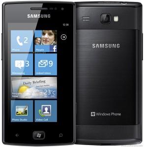 reset Windows en Samsung Omnia W i8350